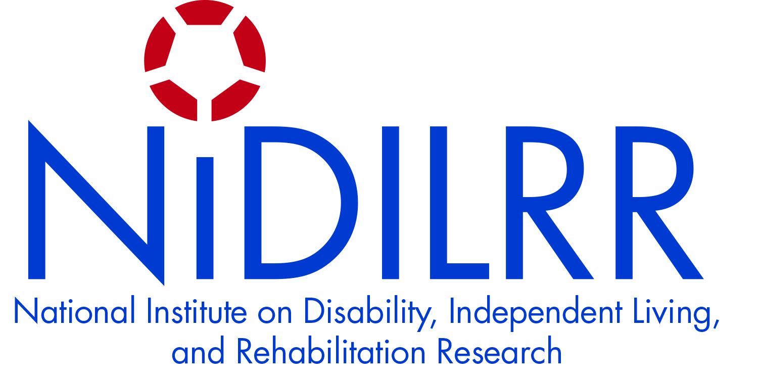 NIDILRR logo National Institute on Disability, Independent Living, and Rehabilitation Research