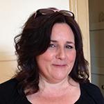 Christine Fowler wearing a black top